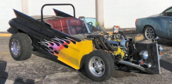 Photo of 1961 Cadillac Unique Radical Wild Custom Hot Rod