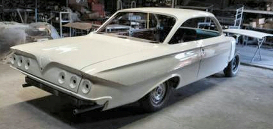 Photo of 1961 Chevrolet Impala 2DR Hardtop Project