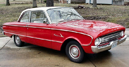 1961 Ford Falcon 2dr Sedan