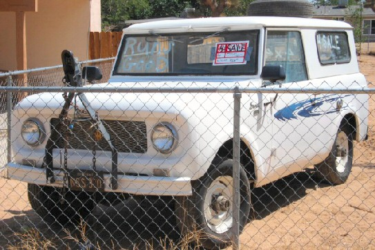 1961 International Scout 4x4