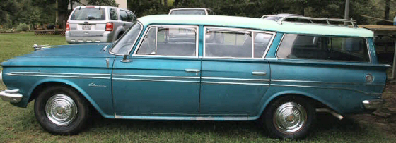 Photo of 1961 Rambler Classic 8 Passenger 5 DR Station Wagon