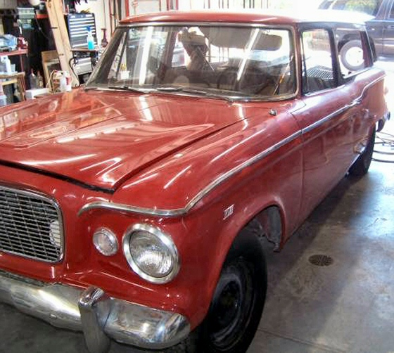 Photo of  1961 STUDEBAKER LARK HANDY MAN 2DR STATION WAGON  PROJECT