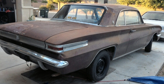 Photo of 1962 Buick Skylark 2DR Hardtop Project