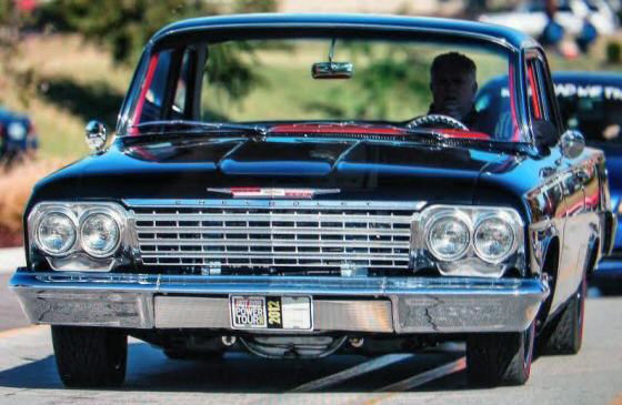 Photo of  1962 Chevy Belair 2 DR Protouring With Tri Power