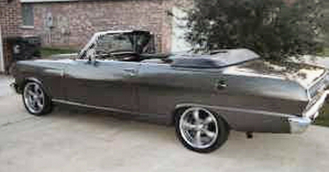 1962 Chevy II NOVA Convertible Street Rod