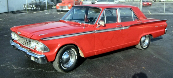 Photo of 1962 Ford Fairlane 500 4 Door Sedan