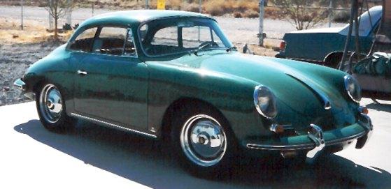 1962 Porsche 356B - Notchback, 52000 original miles.