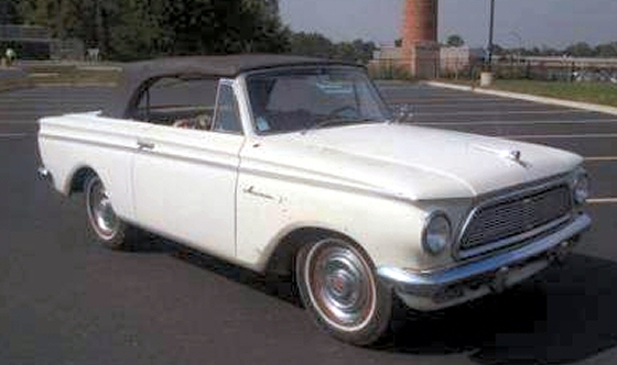 Photo of 1962 RAMBLER AMERICAN 400 CONVERTIBLE