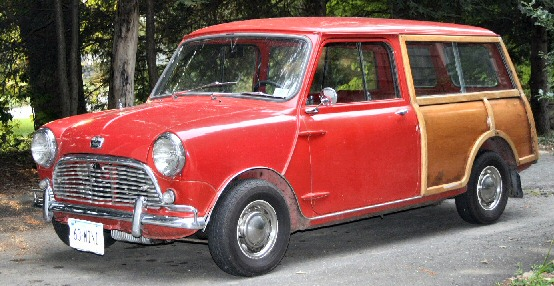 1963 Austin 850 Countryman Woody Wagon
