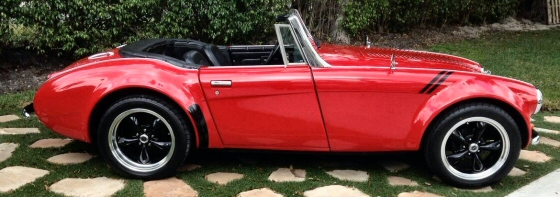 Photo of 1963 Austin Healy Sebring Replica Kit Car by Classic Roadsters
