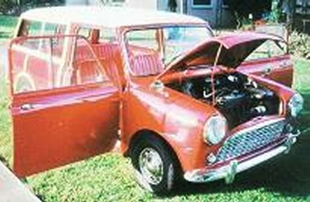 1963 Austin Countryman 850 Woody