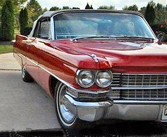 Photo of 1963 Cadillac DeVille Convertible