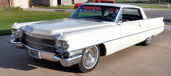 Photo of  1963 Cadillac Series 62 Coupe DeVille 2DR HT Showing 44,229 Miles