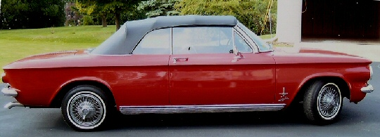 1963 Corvair Spyder Turbo Convertible