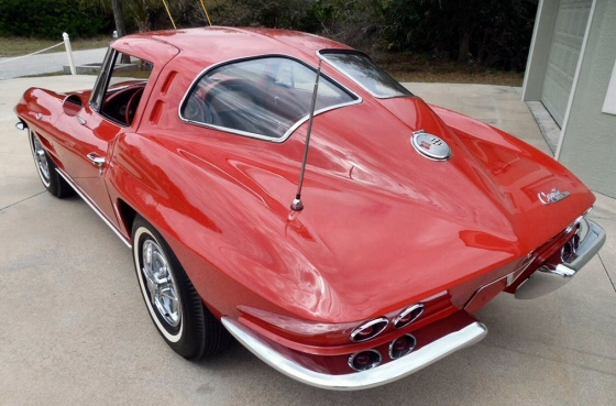 1963 corvette stingray split window coupe for 1963 split window corvette stingray