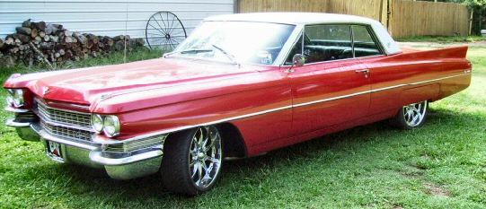 1963 Cadillac Coupe Deville 2DR