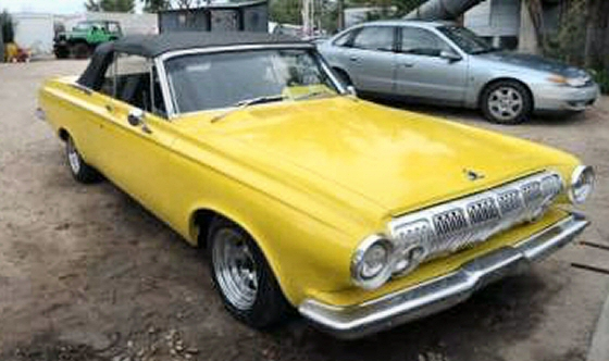 Photo of  1963 Dodge Polara Convertible With 40,000 Miles