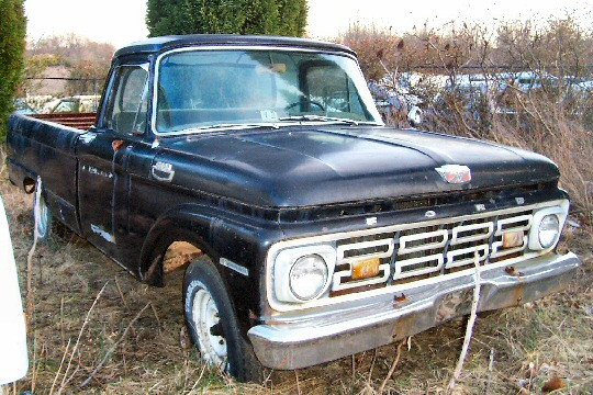 1963 Ford Custom cab pickup