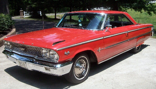 Photo of 1963 Ford Galaxie 500 Fastback
