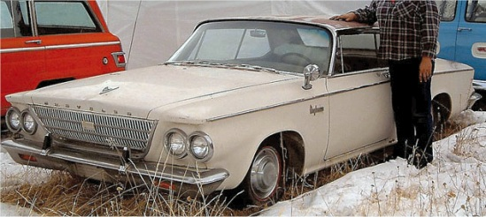 1963 Chrysler Newport Coupe