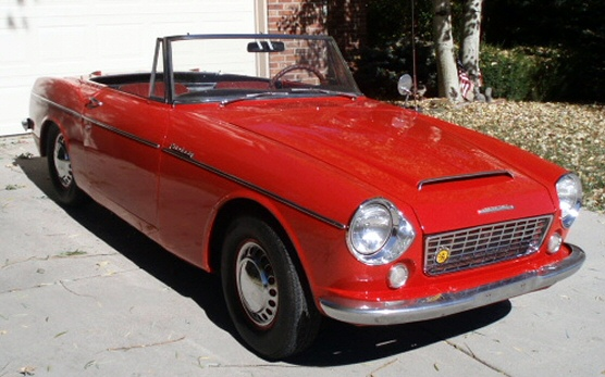 Photo of 1963 Nissan 1500 Fairlady Roadster