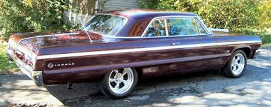 Photo of 1964 CHEVY IMPALA SS 2 DR HT WITH 4 SPEED