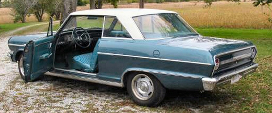 Photo of 1964 Chevrolet Nova 2 DR Hardtop With 42605 Miles