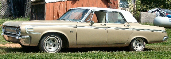 1964 Dodge 440 4 Door 50th Golden Anniversary  Model