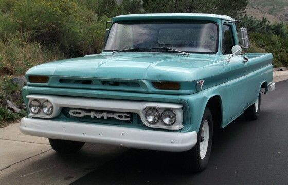 1964 gmc pickup with low miles for sale. Black Bedroom Furniture Sets. Home Design Ideas
