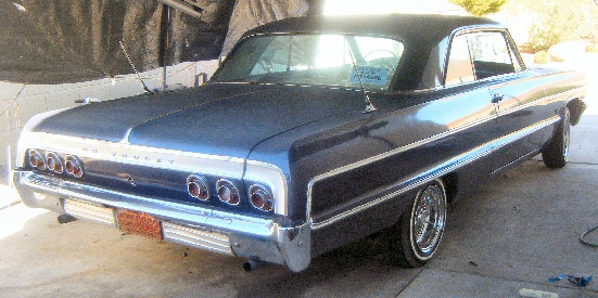 1964  Chevy Impala 2 Door Coupe