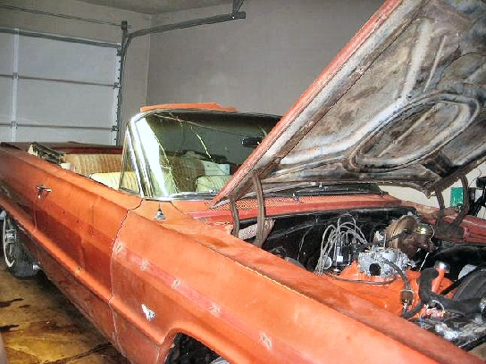 1964 CHEVY IMPALA SS CONVERTIBLE PROJECT
