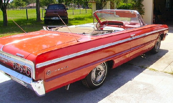 1964 Chevy Impala Convertible for Sale