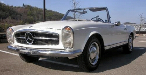 1964 mercedes benz 230 sl convertible with hardtop and for Hardtop convertible mercedes benz