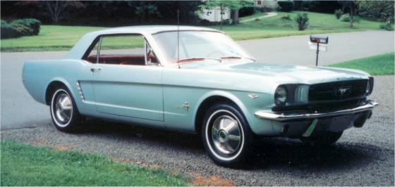 1964 1/2 Mustang Coupe
