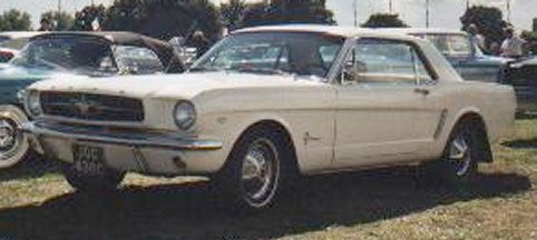1964 Ford Mustang Hardtop