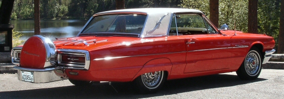 1964 Ford Thunderbird Coupe With Continental Kit
