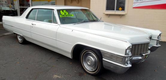 1965 Cadillac Coupe Deville 2 Door Hardtop