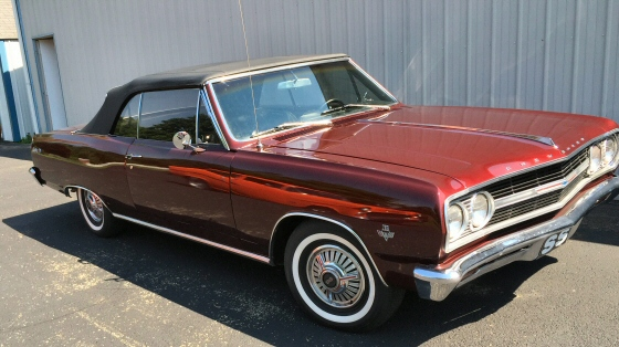 Photo of 1965 Chevelle SS Convertible  Frame Off Restored Real SS