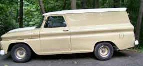 1965 Chevy C10 Panel Truck