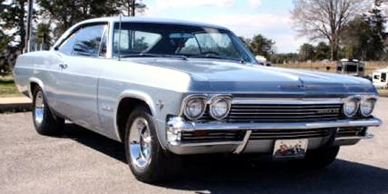Photo of 1965 Chevrolet Impala Super Sport Numbers Matching