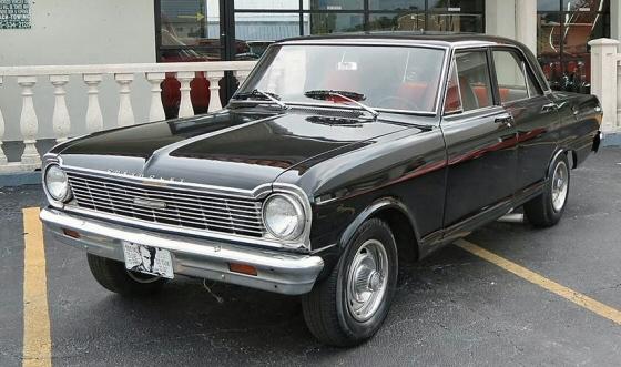 1965 Chevy Nova 4 Door
