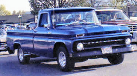 1965 Chevrolet 1/2 ton 2 wheel drive Pickup