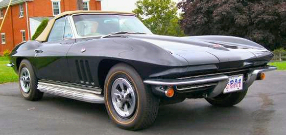 Photo of 1965 Corvette Convertible Numbers Matching