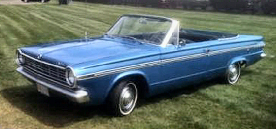 Photo of 1965 Dodge Dart Convertible