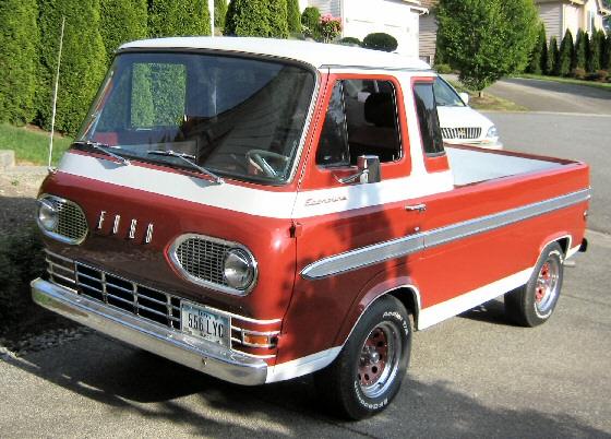 1965 ford econoline pickup. Black Bedroom Furniture Sets. Home Design Ideas