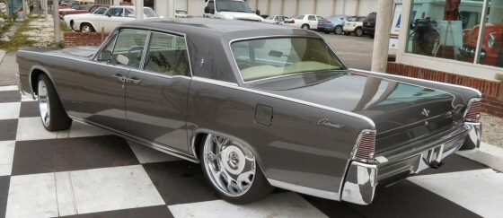 1965 lincoln continental 4 door hardtop with custom interior. Black Bedroom Furniture Sets. Home Design Ideas