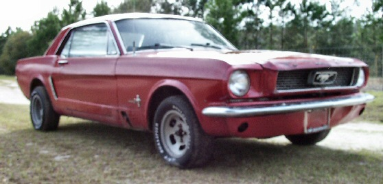 1965 mustang 6 cylinder for sale