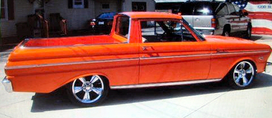 photo of 1965 ford ranchero street rod