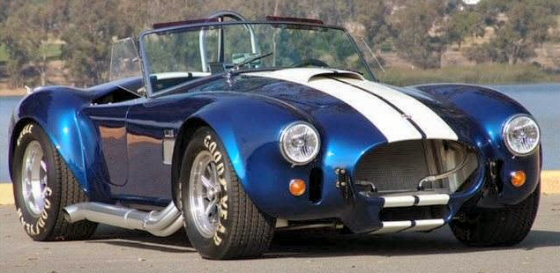 1965 Kirkham Reproduction Cobra With Only 277 Miles
