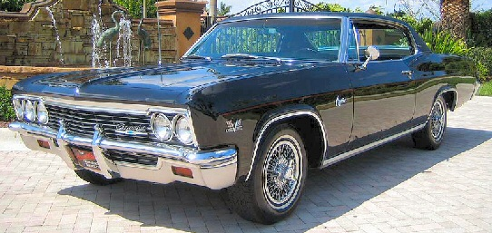 1966 Chevrolet Caprice 396 Sport Coupe